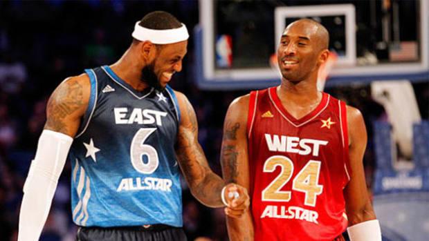 LeBron Kobe Call