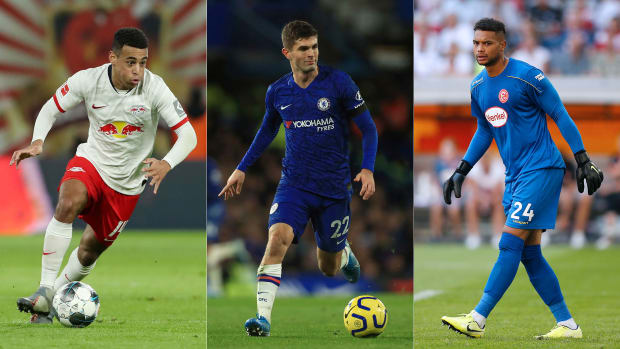 Adams-Pulisic-Steffen-USMNT