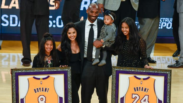 Vanessa Bryant spoke on the deaths of her husband, Kobe, and daughter, Gianna.