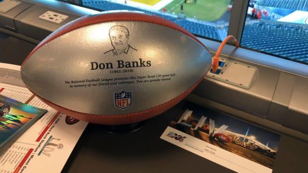 Don Banks Tribute Super Bowl LIV