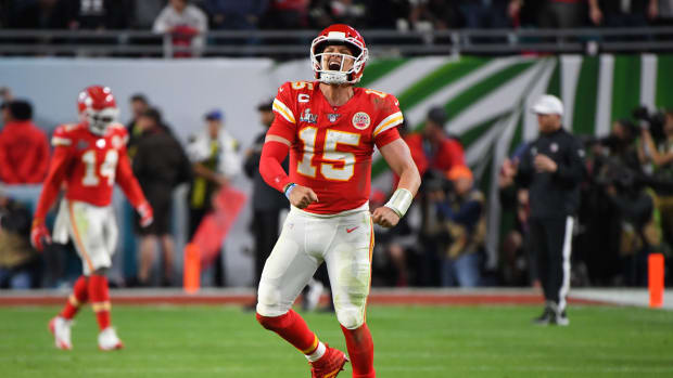 Patrick Mahomes was named Super Bowl MVP after the Chiefs' comeback victory over the 49ers.