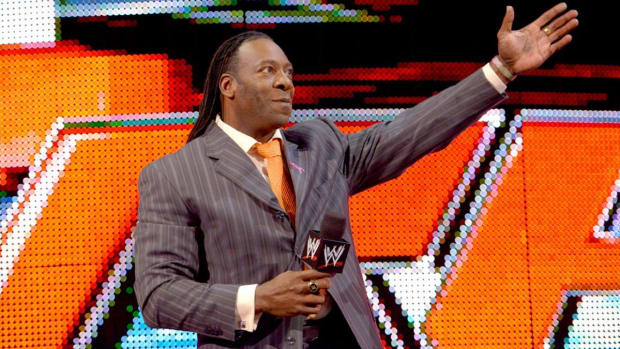 WWE Hall of Famer Booker T appears on Raw