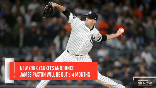 New York Yankees Announce James Paxton Will Be Out For 3-4 Months