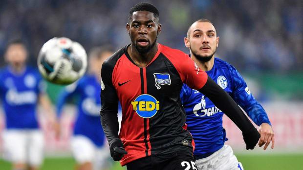 Jordan Tournarigha was racially abused at Schalke