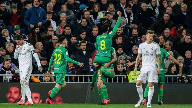 Real Sociedad beats Real Madrid in the Copa del Rey quarterfinals