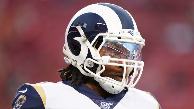 Todd Gurley NFL Meeting