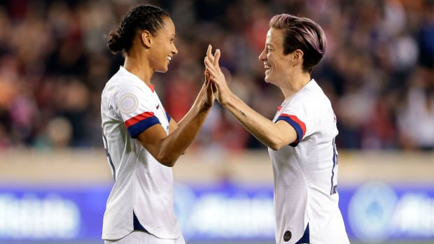 USWNT's Lynn Williams and Megan Rapinoe