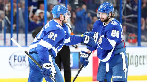 Tampa Bay Lightning: Steven Stamkos, Nikita Kucherov