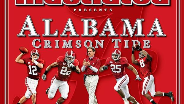 Alabama Sports Illustrated cover, Return to Glory, Jan. 13, 2010