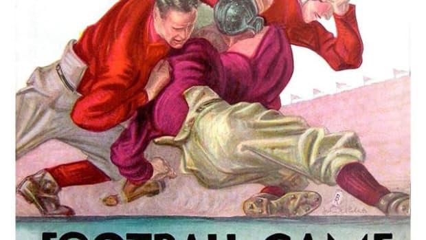 Rose Bowl gave cover, Alabama vs. Stanford, Jan. 1, 1927