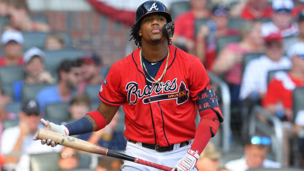 Ronald Acuna Jr. Atlanta Braves Fantasy Baseball