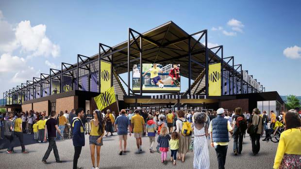 Nashville's stadium plan was essential to its MLS expansion bid