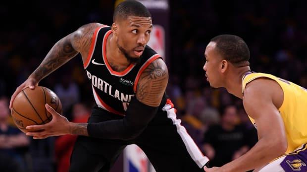 NBA DFS Damian Lillard, Portland Trail Blazers