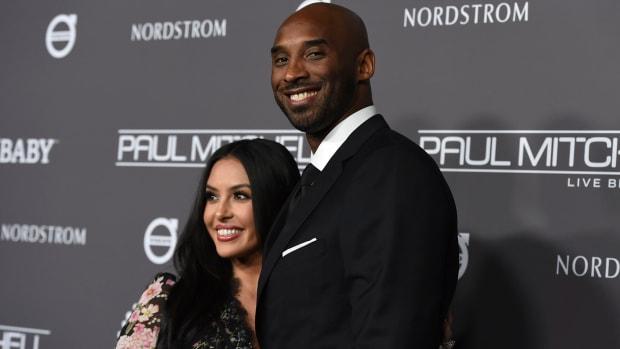 Kobe Bryant and Vanessa Bryants attend the 2018 Baby2Baby Gala.