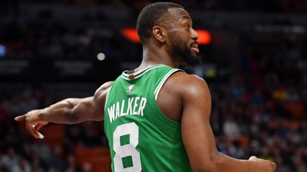 NBA DFS Kemba Walker, Boston Celtics