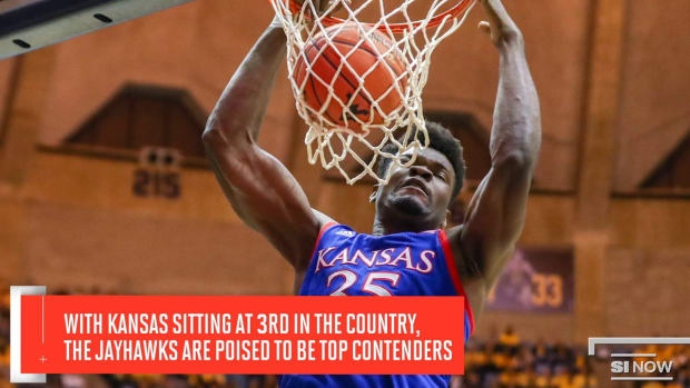 Kansas Has Been the Steady Force in a Turbulent College Basketball Season