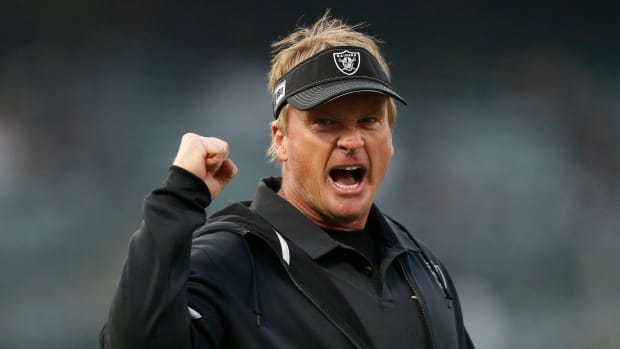 Jon Gruden plans to pursue Tom Brady