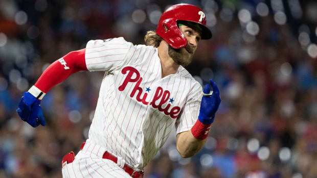 Fantasy Baseball Bryce Harper, Philadelphia Phillies