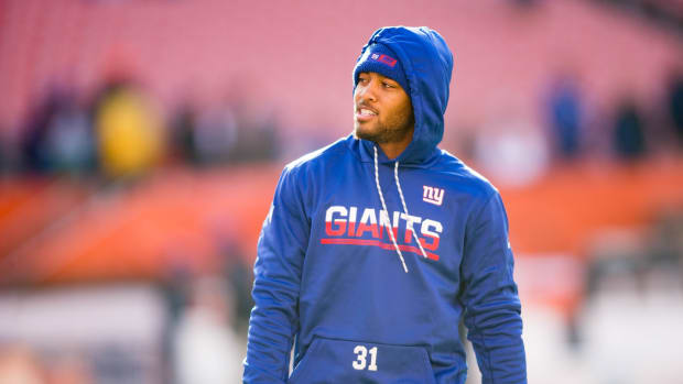 Trevin Wade with the New York Giants in 2016.