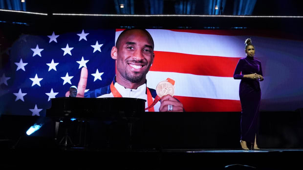 Kobe Bryant and David Stern were paid tribute prior to the 2020 All-Star Game.