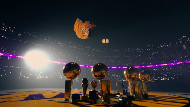 Screenshot from TNT's tribute video in honor of Kobe Bryant produced by Dr. Dre