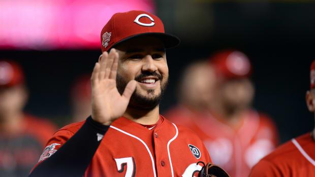 Fantasy Baseball, Eugenio Suarez Cincinnati Reds