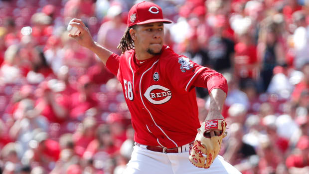 Fantasy Baseball, Luis Castillo Cincinnati Reds