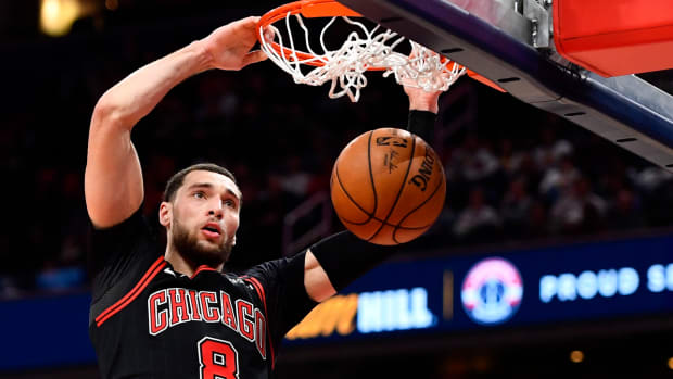 NBA DFS, Zach LaVine, Chicago Bulls