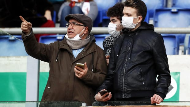 Coronavirus-Italy-Soccer