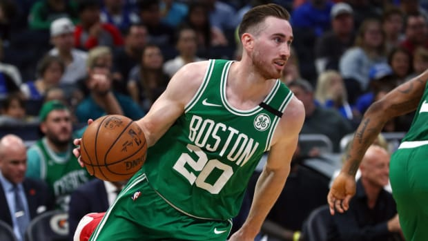 NBA DFS, Gordon Hayward, Boston Celtics