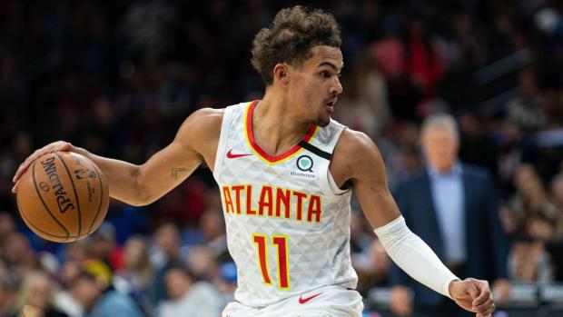 NBA DFS, Trae Young, Atlanta Hawks