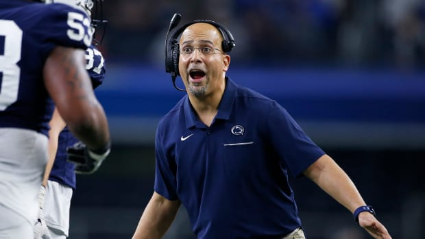 Penn State James Franklin football contract extension