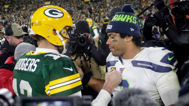 Russell Wilson and Aaron Rodgers both oppose the new proposed CBA.
