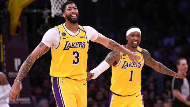 NBA DFS, Anthony Davis, Los Angeles Lakers