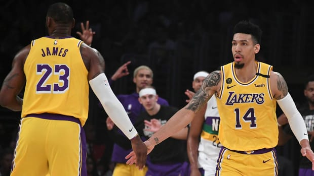 Danny Green, Los Angeles Lakers