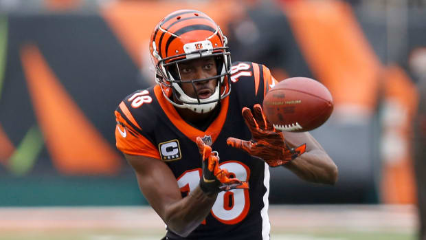The Bengals are reportedly planning to keep A.J. Green on a franchise tag.