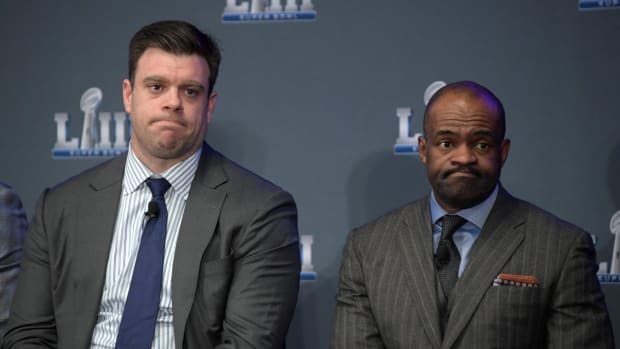 NFLPA Representatives Eric Winston and DeMaurice Smith