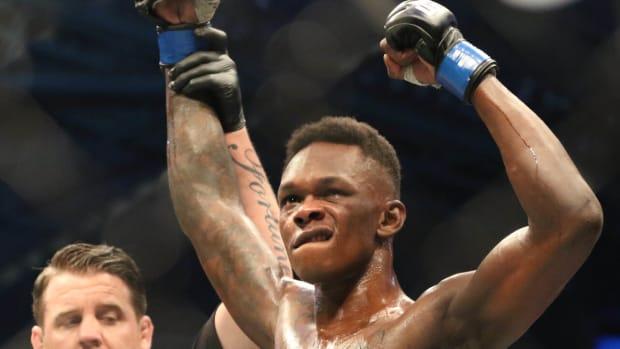 UFC 248, Israel Adesanya