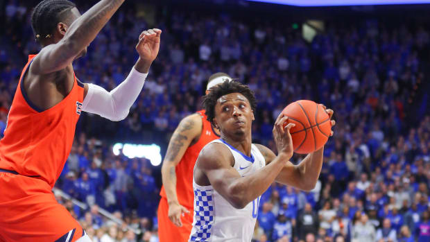 SEC Tournament Ashton Hagans Kentucky