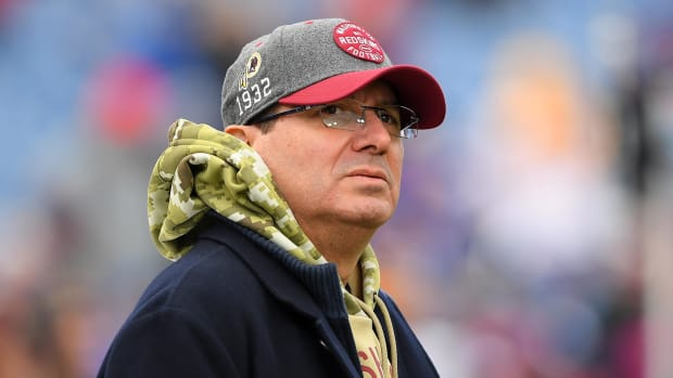 Dan Snyder wants to stick with Dwayne Haskins