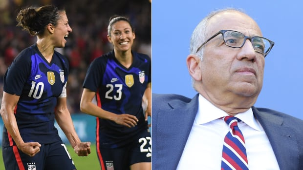 The U.S. women's national team remains locked in an equal pay battle with U.S. Soccer