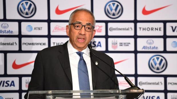 Former U.S. Soccer president Carlos Cordeiro