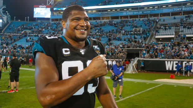 The Jaguars have reportedly agreed to trade DE Calais Campbell to the Ravens.