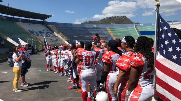 U.S. women's football team stranded in Honduras