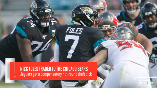 Nick Foles Traded To The Chicago Bears