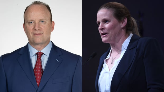 U.S. Soccer CEO Will Wilson and president Cindy Parlow Cone