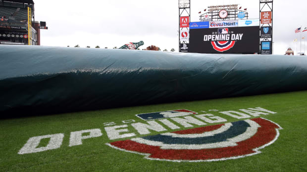 """MLB is broadcasting 30 classic games in its """"Opening Day at Home"""" initiative."""