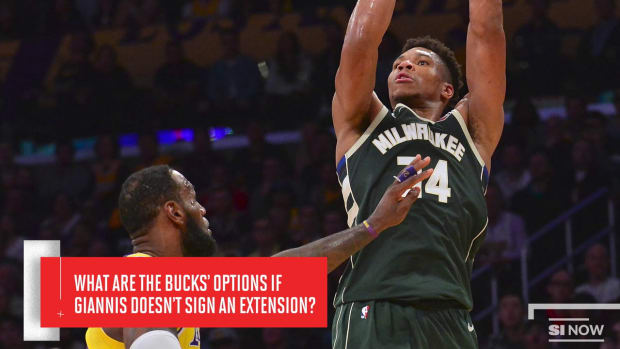 What's Bucks' Contingency Plan if Giannis Doesn't Sign Extension?