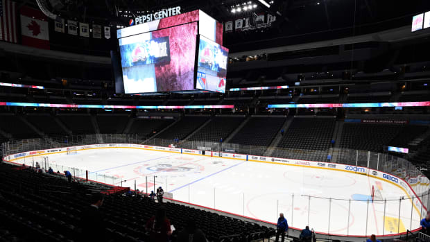 A second player on the Colorado Avalanche has tested positive for coronavirus.
