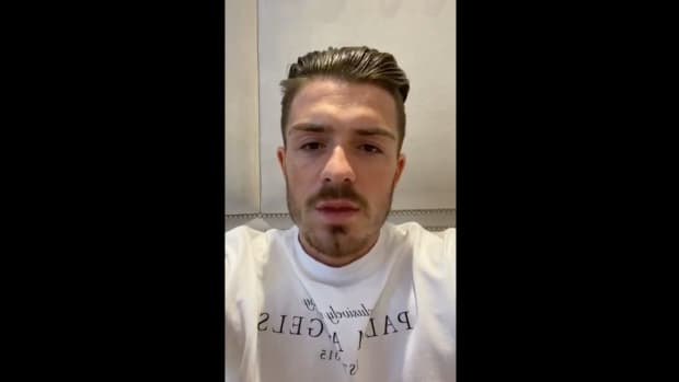 Jack Grealish apologized on social media for breaking his own self-isolation advice to stay at home.